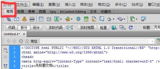 如何用dreamweaver在文档头插入meta标记设置版权信息?